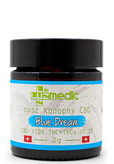 susz konopny luuz medic cbd blue dream