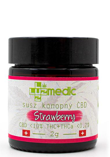 susz konopny strawberry luuz medic
