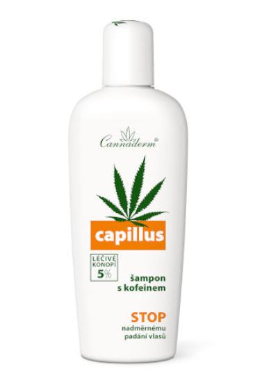 konopny szampon z kofeiną cannaderm przeciw wypadaniu włosów